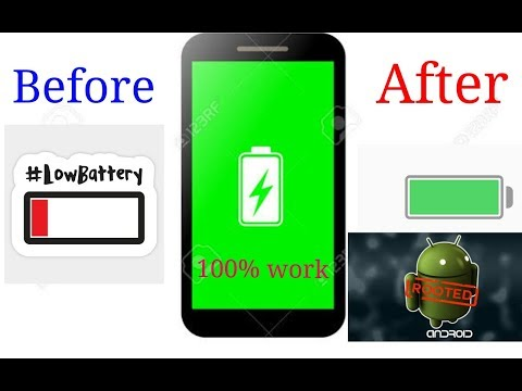 How To Increase Battery Life On Rooted Phone(100 %)work
