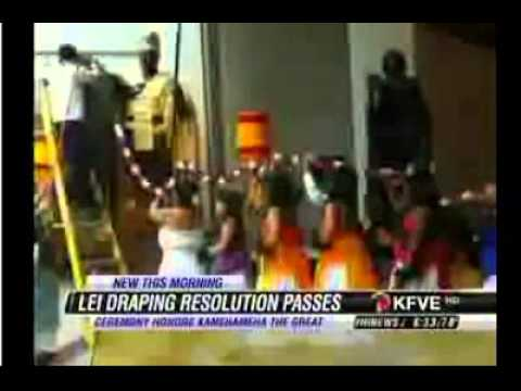 HNN - Hanabusa Leads House in Passage of Kamehameha Lei Draping Resolution