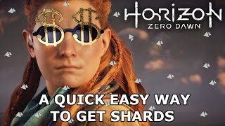 Quick and Easy way to get shards early in the game - Horizon Zero Dawn
