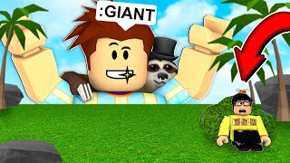 HIDE AND SEEK But I Am GIANT.. (Roblox)
