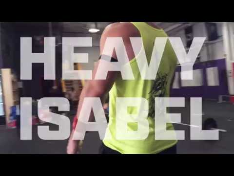 "Training For the GAMES: Travis Williams and Alexis Johnson do ""Heavy Isabel"""