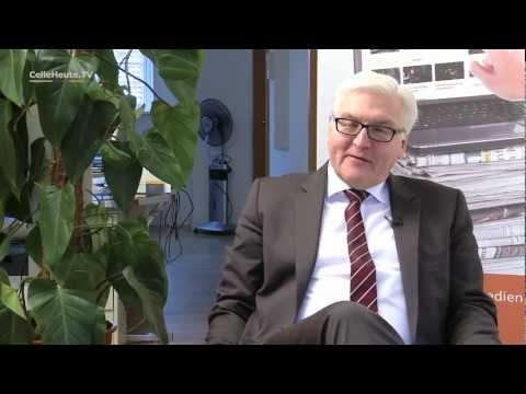 Frank-Walter Steinmeier - Auf ein Wort mit Peter Fehlhaber (CHTV)
