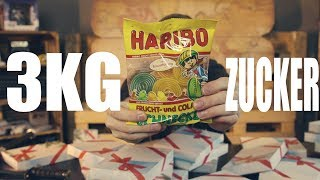 Tschüss, Gesunde Ernährung! XXL Haribo Adventskalender getestet