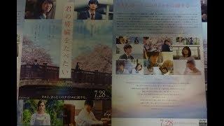 君の膵臓をたべたい(B)(2017)映画チラシ 2017年7月28日公開 シェアOK お...