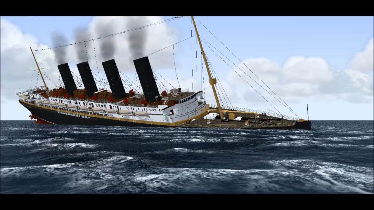 Lusitania Sinking In Vehicle Simulator For The 102