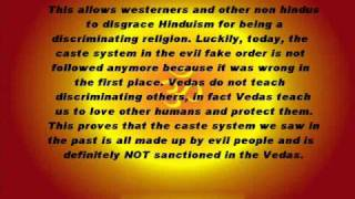 HINDUISM AND THE CASTE SYSTEM: A MUST SEE FOR EVERYONE!