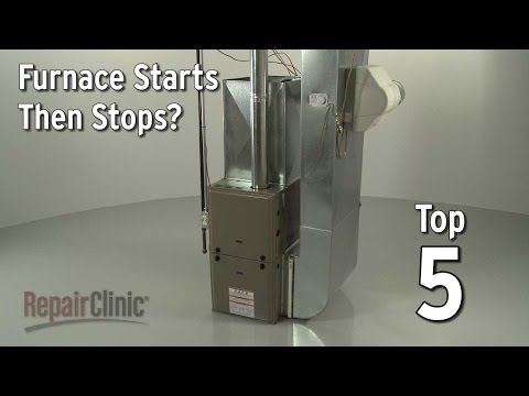 "Thumbnail for video ""Furnace Starts Then Stops? Gas Furnace Troubleshooting"""