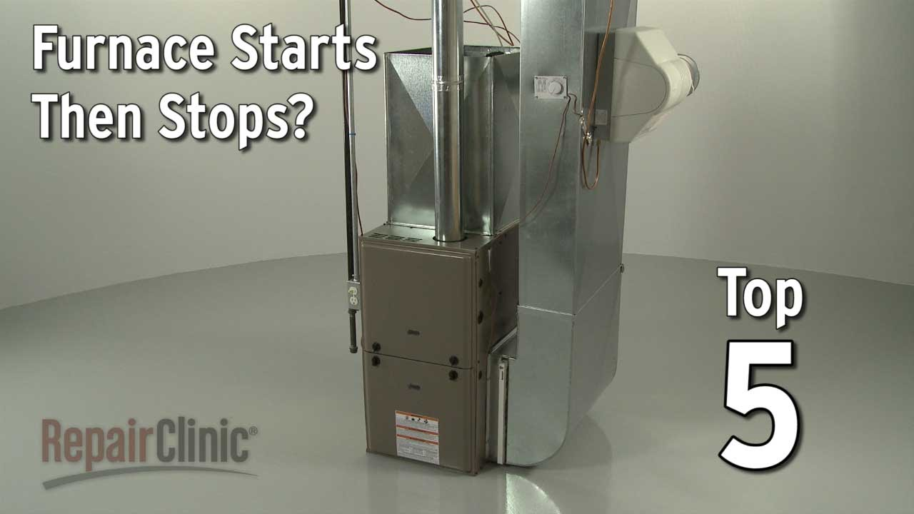 Furnace Starts Then Stops  Furnace Troubleshooting - YouTube