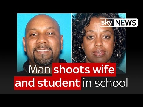 Man shoots wife and student in school in San Bernardino, California