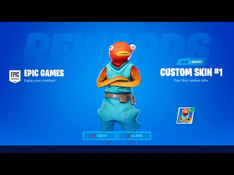 HOW TO CREATE YOUR OWN SKIN IN FORTNITE!
