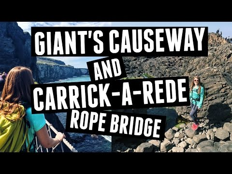 Ireland Travel // Giant's Causeway & Carrick-A-Rede Rope Bridge