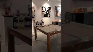 Visite de l'atelier-galerie VanLuc, mode séminaire