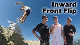 Как научиться Внутренний Гейнер за 4 года  Nward Front Flip Tutorial
