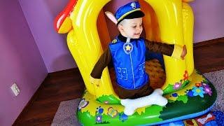 Рома Гонщик Чейз из мультика ЩЕНЯЧИЙ ПАТРУЛЬ, PAW Patrol Toys Unboxing