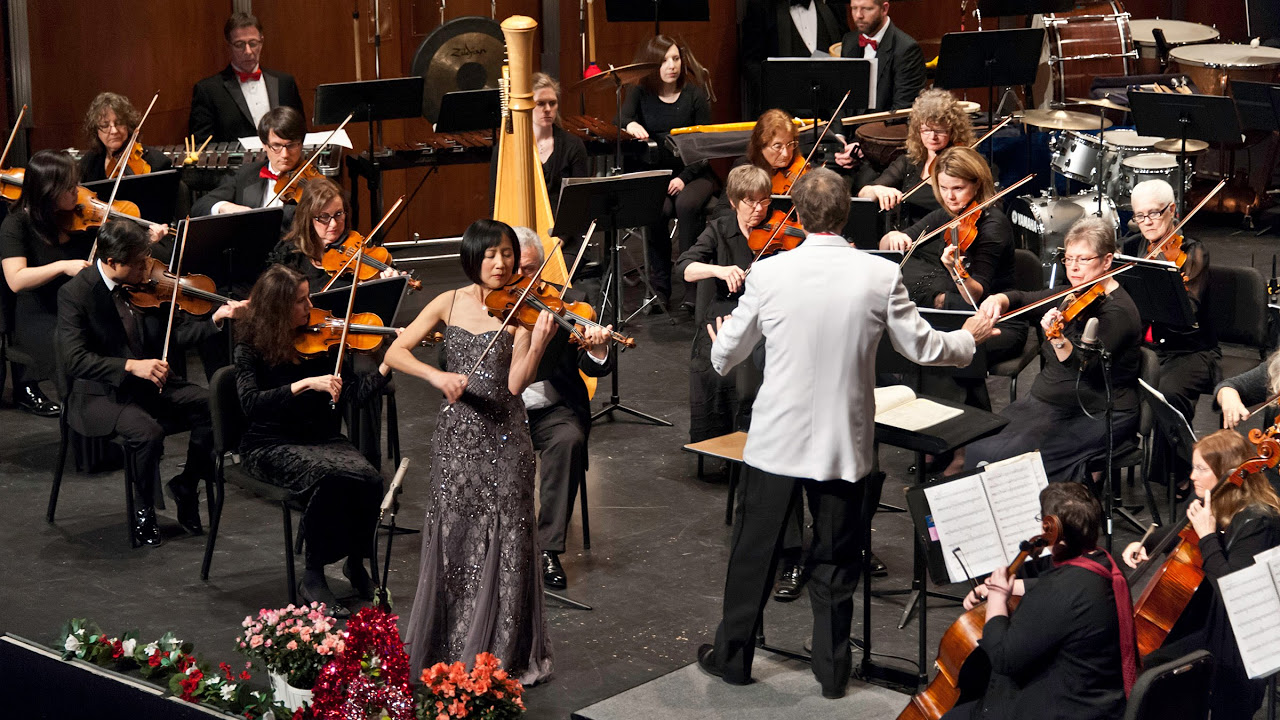 The Butterfly Lovers Violin Concerto The Folsom Symphony With Violinist Linda Wang