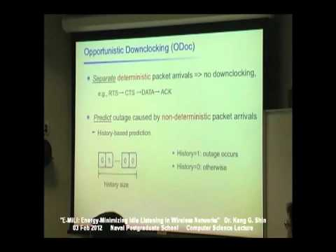 Kang G. Shin, E-MiLi: Energy-Minimizing Idle Listening in Wireless Networks (February 3, 2012)