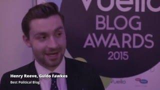 Vuelio Blog Awards Interview: Guido Fawkes, Best Political Blog
