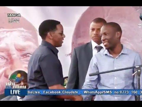 BREAKING NEWS: JPM awakutanisha LIVE Makonda na Ruge
