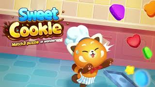 Sweet Cookie : Match3 puzzle in wonderland screenshot 3