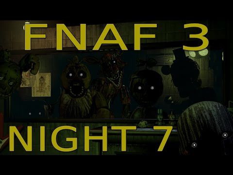 FOXY PLAYS: FNAF 3 Custom Night