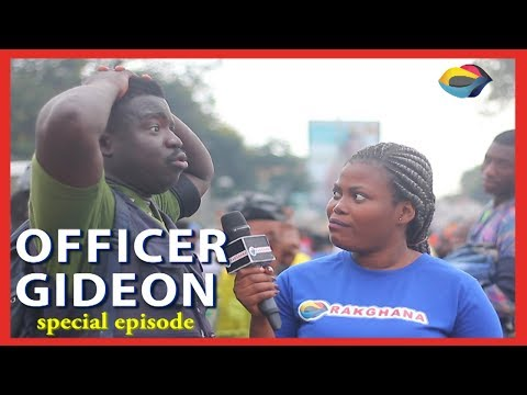 OFFICER GIDEON SPECIAL EPISODE | Street Quiz | Funny Videos | Funny African Videos | African Comedy