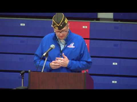 Honoring Veterans at Jay County High School