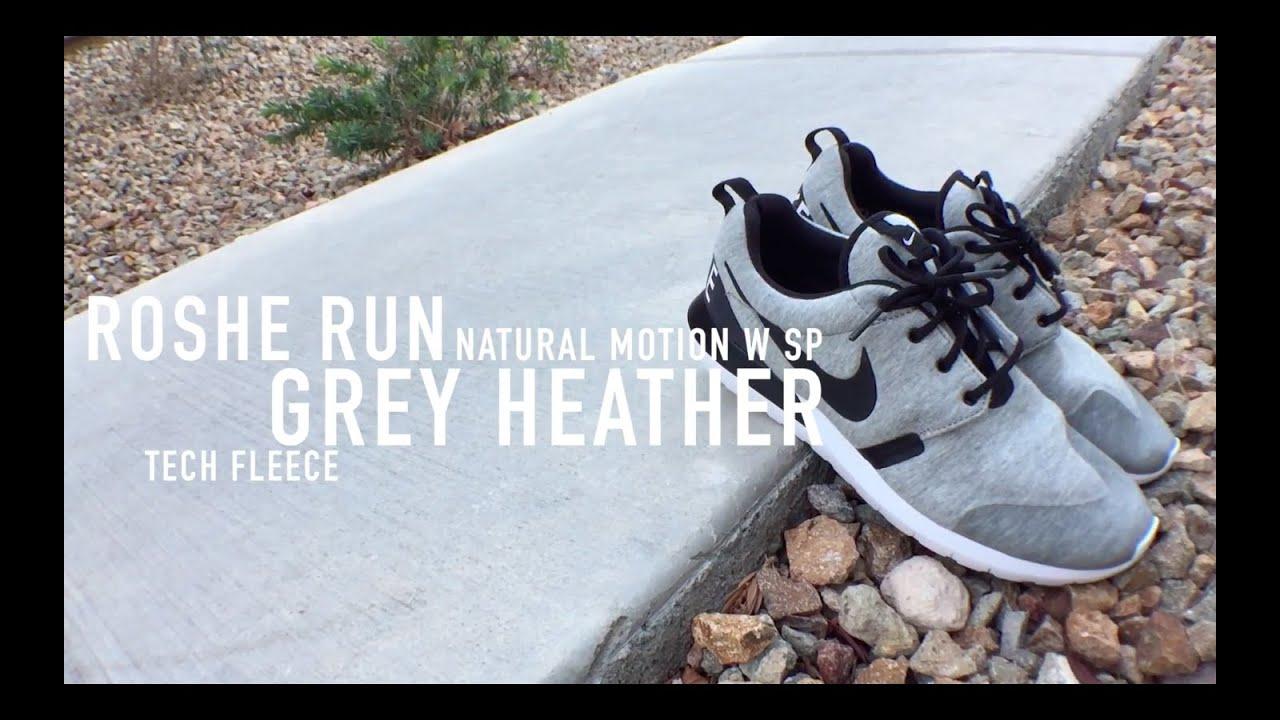 196e1b8959d6 Roshe Run Tech Fleece Review   On Feet