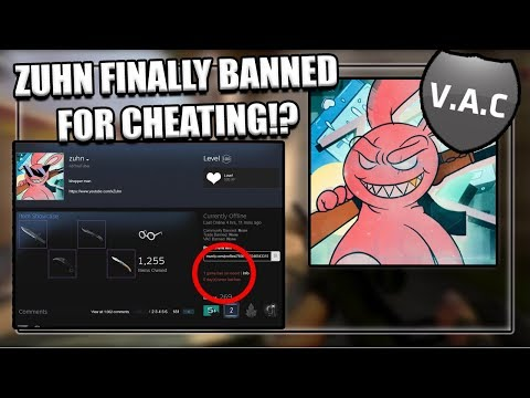 ZUHN FINALLY BANNED FOR CHEATING!? (CSGO) - YouTube