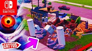 🔴 CATTUS RASTET AUS! Pleasant Park Haus kaputt & Custom Games | Fortnite Switch Deutsch