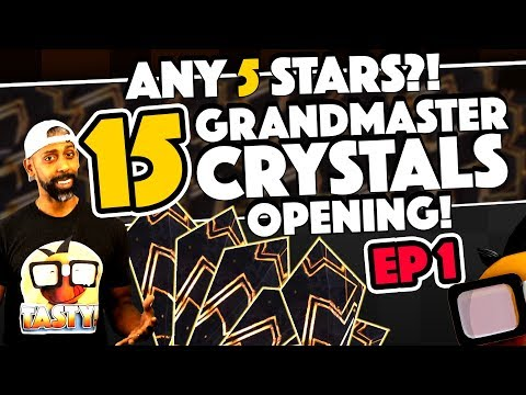 15 Grandmaster Crystals Opening #1 Can Odin Get Me A Five Star??