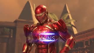 Injustice 2 atom vs flash great fight