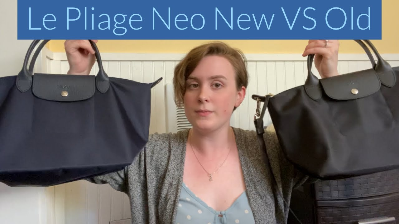 Longchamp Small Le Pliage Neo | New VS Old Model