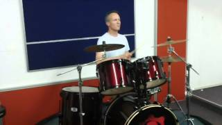 """Trevor Heneck Plays a Drum Cover of """"Nothing Else Matters"""" by Metallica at Live2Drum"""