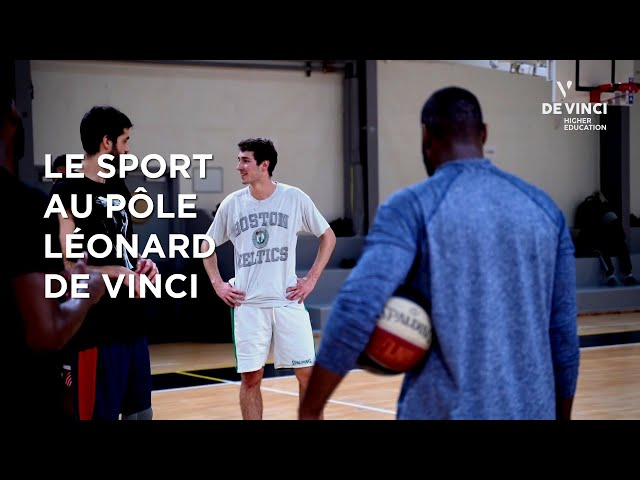 Le Sport au Pôle Léonard de Vinci