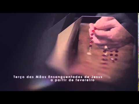 Estreia Terço das Mãos Ensanguentadas de Jesus na Rede Século 21