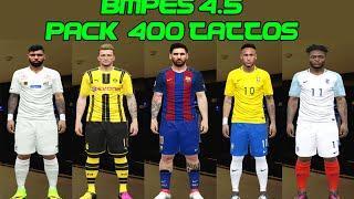PES 2016 - PACK 400 TATTO (by Marcéu) COMPATÍVEL COM BMPES 4.5