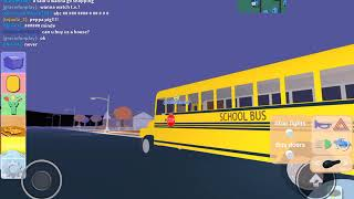 Roblox school bus review the neighborhood of robloxia