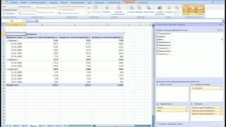 Microsoft Excel 2007. Сводные таблицы.