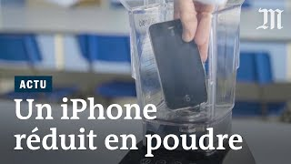 Des chercheurs passent un iPhone au mixeur thumbnail