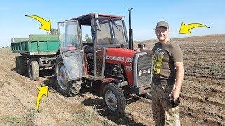 Testuję Traktor Znajomego ☆Siew Pszenicy 2019 ☆Kopanie Ziemniaków
