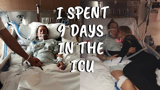 I WAS A PATIENT IN THE ICU FOR 9 DAYS | SHARING MY STORY