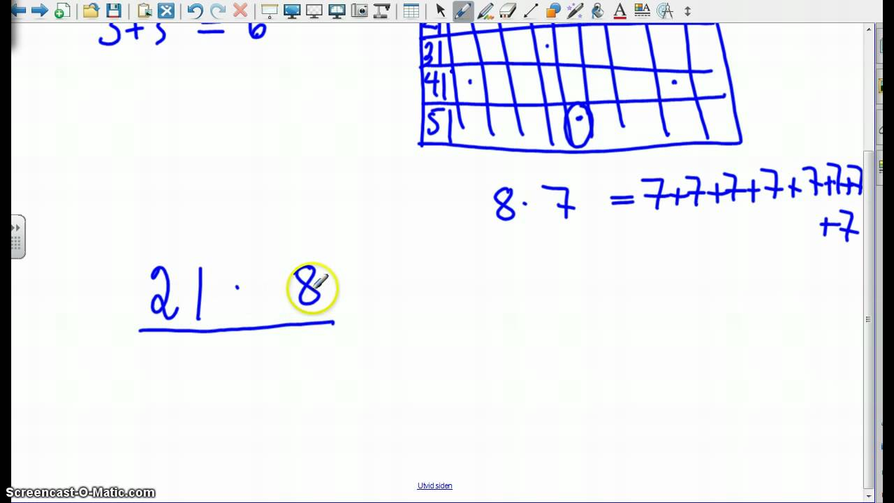 1py-multiplikasjon uten kalkulator