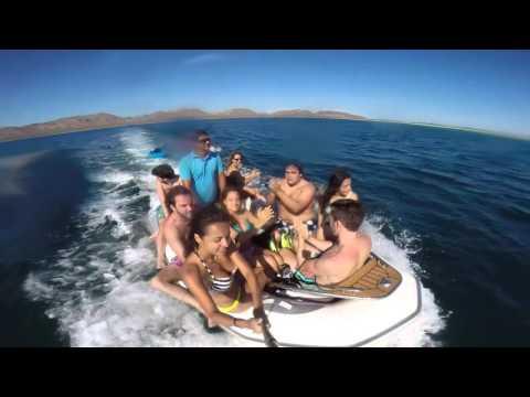 Yacht Sailing in La Paz, Mexico. Go Pro Hero 3+