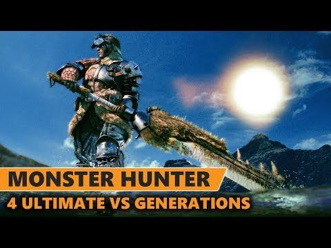 Monster Hunter 4 Ultimate VS Monster Hunter Generations