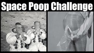 Space Poop Challenge - Floaters Are Way Worse in Space