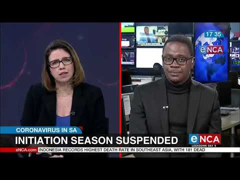 Coronavirus In SA: Initiation Season Called Off