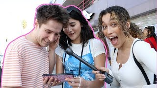 STRANGERS REACT TO MY SONG STRANGERS!!