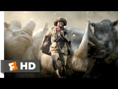 Jumanji: Welcome to the Jungle 2017  Run, Fridge, Run Scene 710  Movieclips