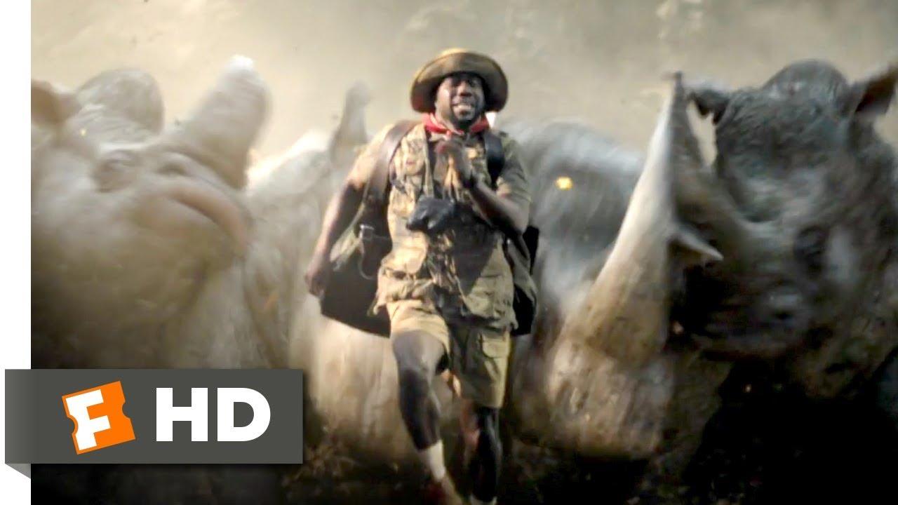 Jumanji: Welcome to the Jungle (2017) - Run, Fridge, Run Scene (7/10) | Movieclips