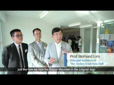 New student hall at Lingnan University opens 嶺大新學生宿舍落成